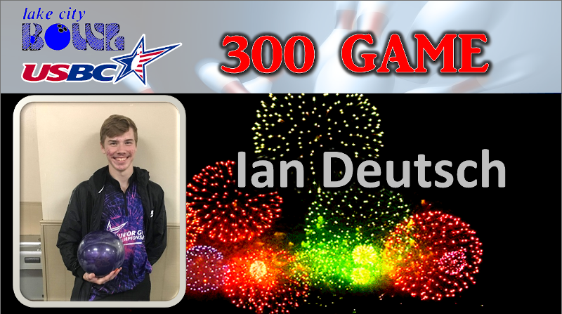ian-deutsch-300-game- Lake City Bowl, Lake City, FL